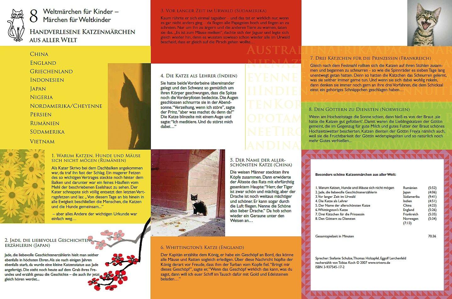 Weltmärchen - Handverlesene Katzenmärchen aus aller Welt: Amazon.de ...