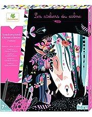 Les Ateliers Du Calme - Tableaux Scratch Art - Chevaux Et Licornes - CREH515 - Loisirs Créatifs