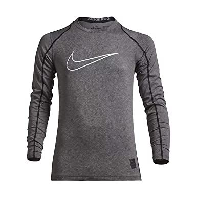 e2e3a17a10ca Amazon.com  Nike Boys Cool Hbr Fitted Long Sleeve (Little Big Kids ...