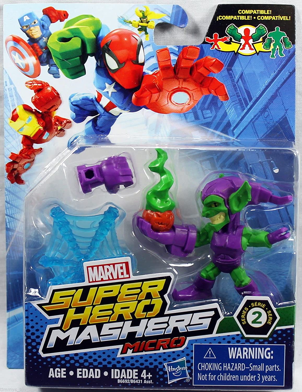 Marvel Super Hero Mashers Micro Series 2 Mini Figure - Green Goblin ^G#fbhre-h4 8rdsf-tg1324324 Fotelilona
