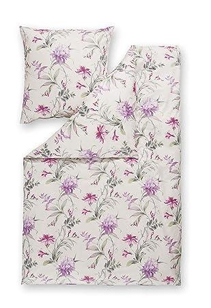 Estella Mako Interlock Jersey Bettwäsche 6155 060 Violett 155x220 Cm