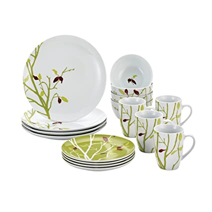 Rachael Ray Dinnerware Seasons Changing 16-Piece Dinnerware Set  sc 1 st  Amazon.com & Amazon.com | Rachael Ray Dinnerware Seasons Changing 16-Piece ...
