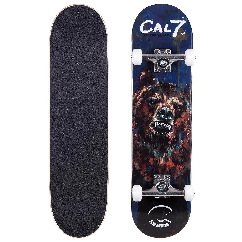 最新作 Cal 7 Complete 8インチスケートボード 7、Popsicleスタイルwith 5.25インチTrucks & 8\ Cal 100 Aホイール子供&大人 B07G2Q174M 8\, Club Take:d40d591e --- a0267596.xsph.ru