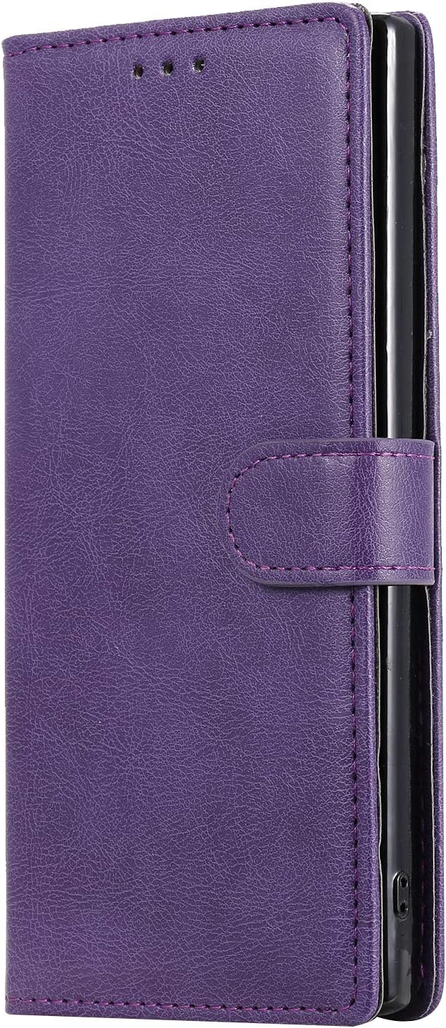 with Card Holder Side Pocket Kickstand NEKTU110191 Blue Note 10 Plus NEXCURIO Wallet Case for Galaxy Note 10+ Shockproof Leather Flip Cover Case for Samsung Galaxy Note10+ 5G