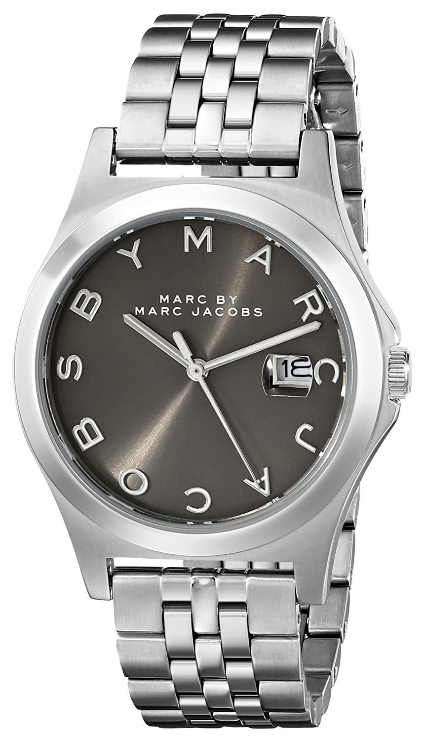 6cfd69f1ac737 Amazon.com: Marc by Marc Jacobs Women's MBM3348 Slim Stainless Steel Watch  with Link Bracelet: Watches