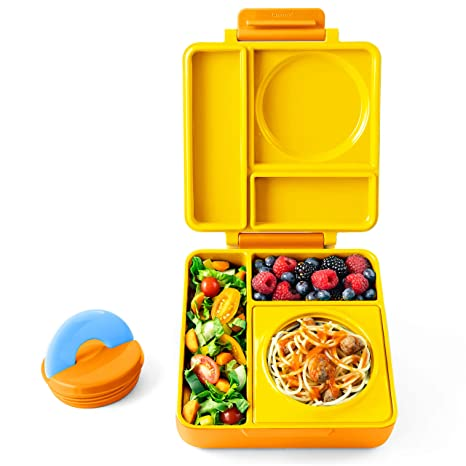 Amazoncom Omiebox Bento Lunch Box For Hot Cold Food 3