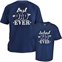 Unique Baby Fathers Day Best Dad Ever Shirt