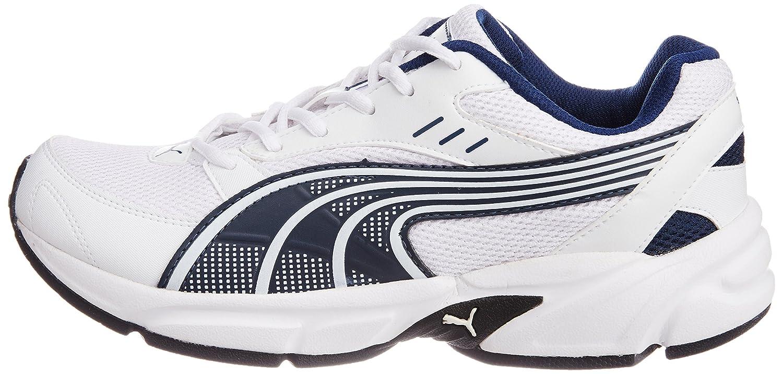 Puma Men's Storm Ind. La Tempête Des Hommes Pumas Ind. White Running Shoes Chaussures De Course Blanc MYK4m