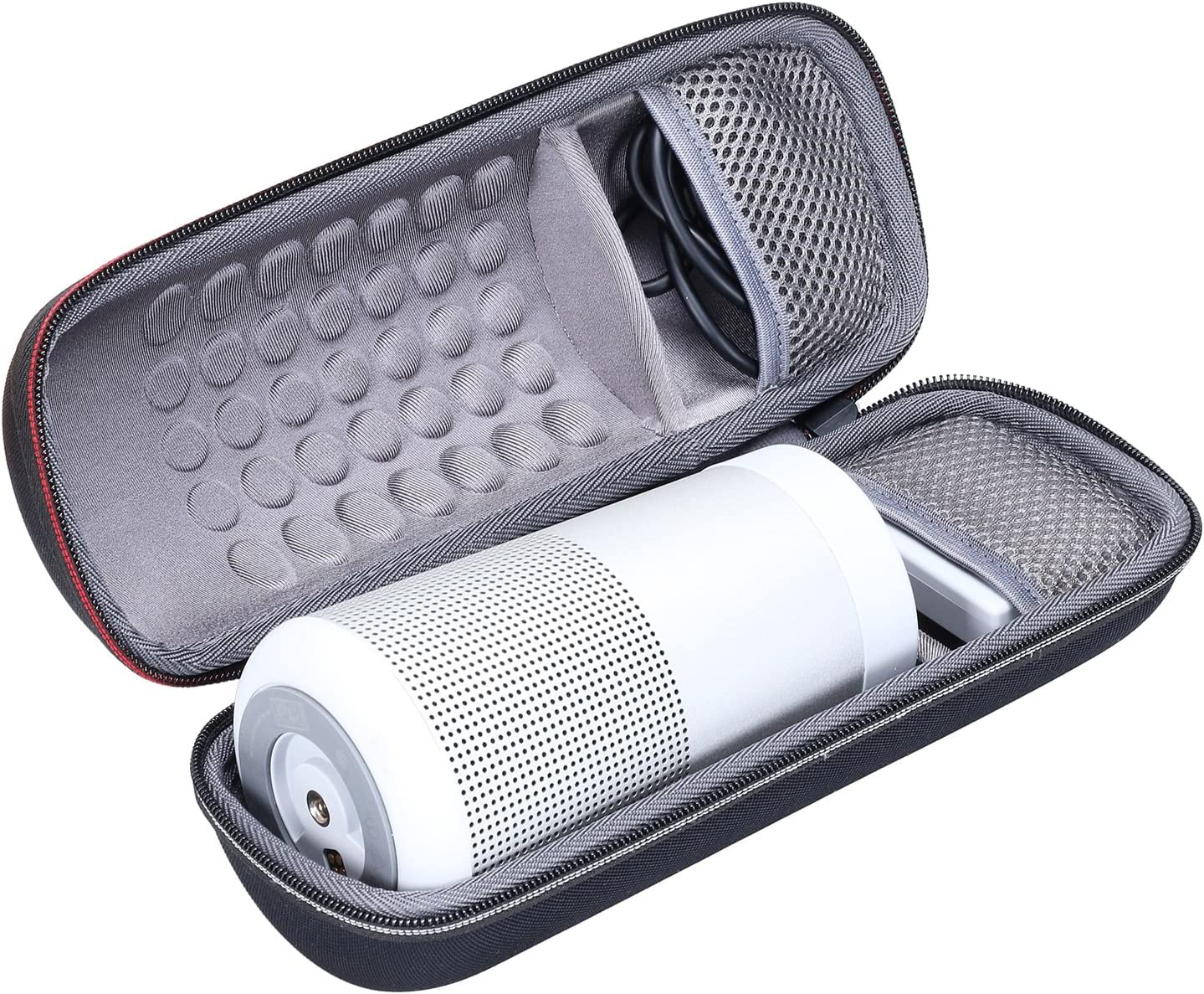 Storage Protective Bag Grey Portable /& Long-Lasting Bluetooth 360 Speaker XANAD Hard Travel Carrying Case for Bose SoundLink Revolve
