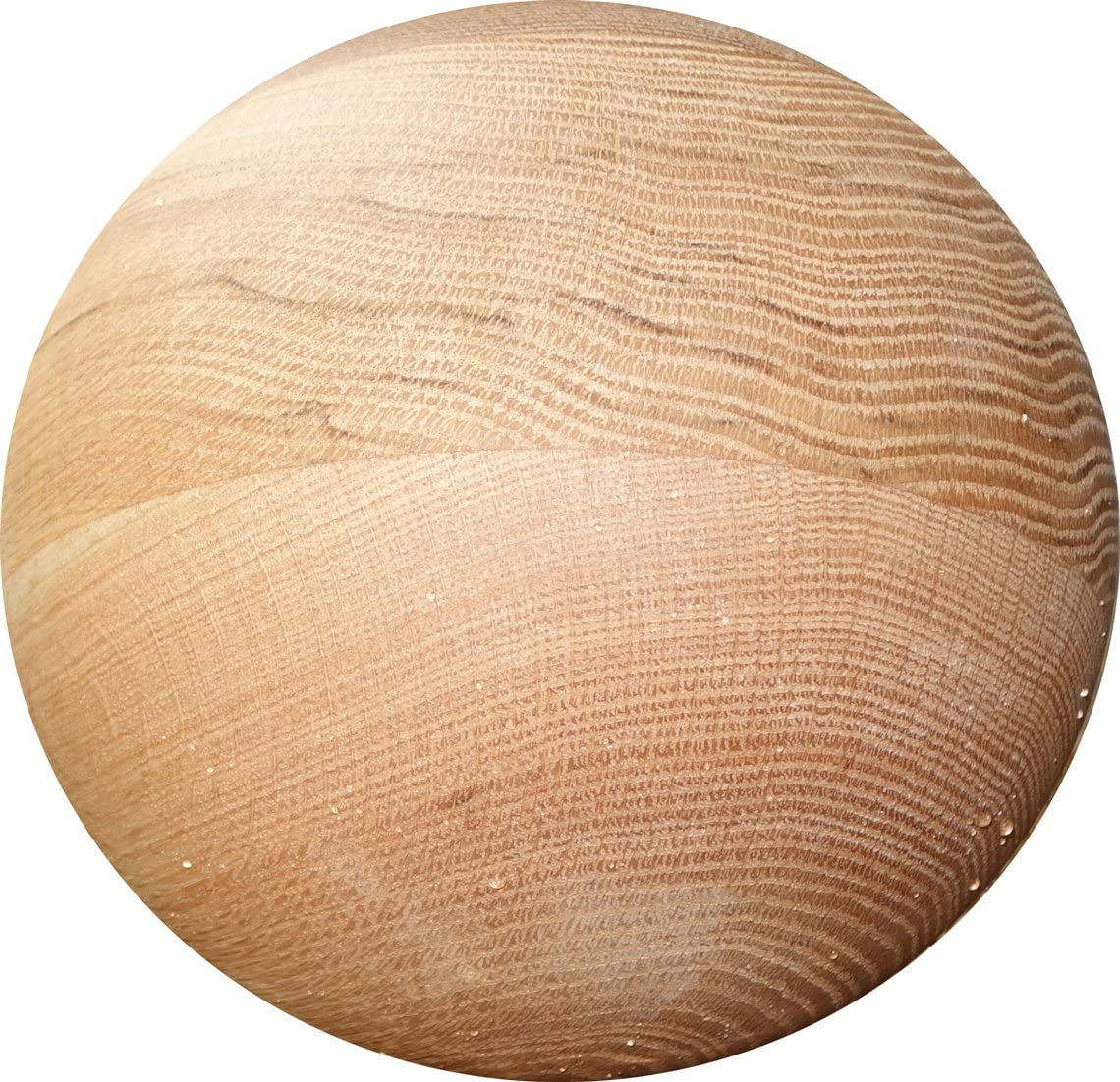Tai Chi Ball – Large Advanced Wood Tai Chi Ball YMAA 7-8 lbs, 8 inches, Oak. Made in The USA Use with Tai Chi DVD