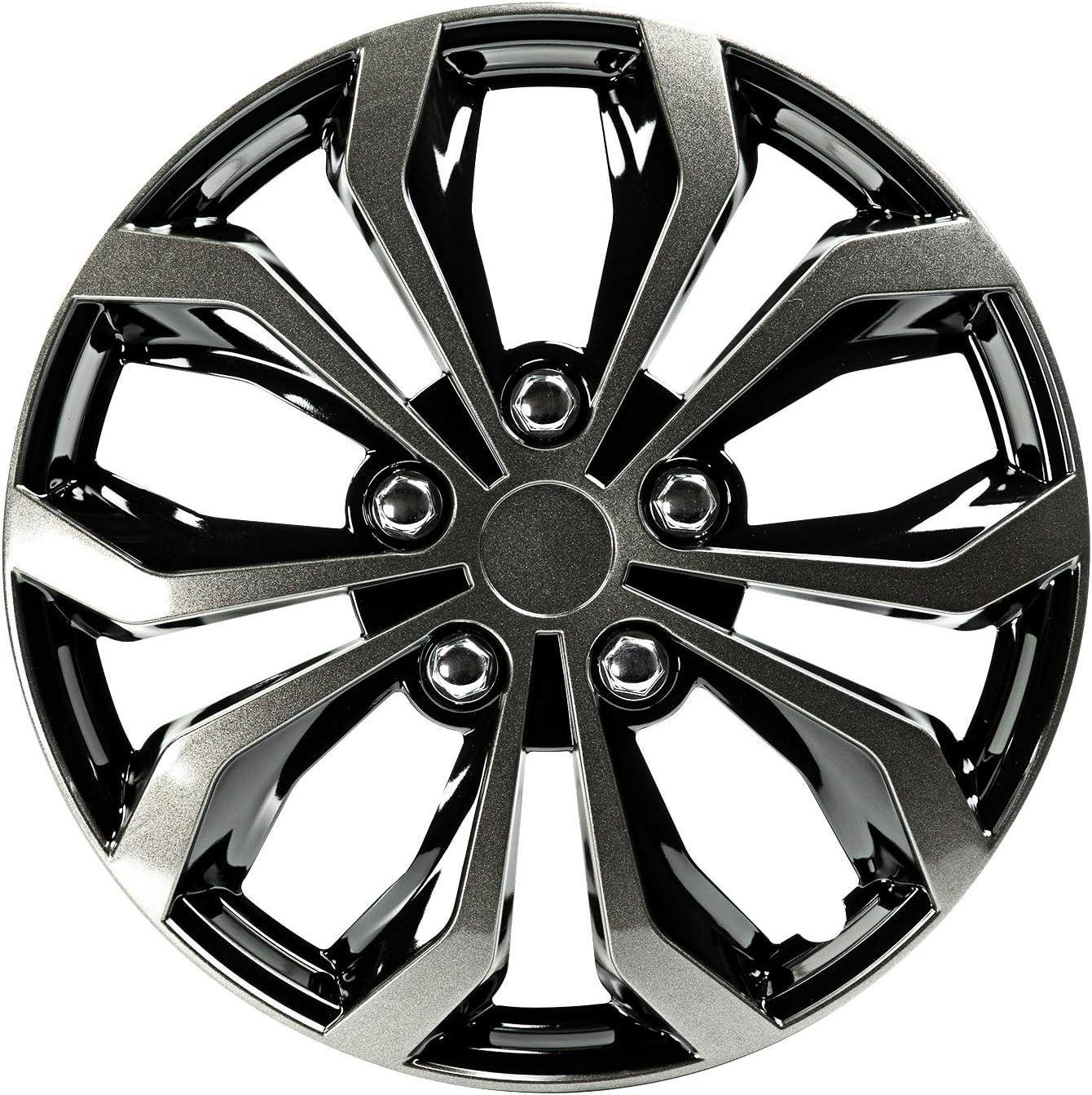 Pilot 17 inches Spyder Performance Wheel Cover Black//Gun Metal