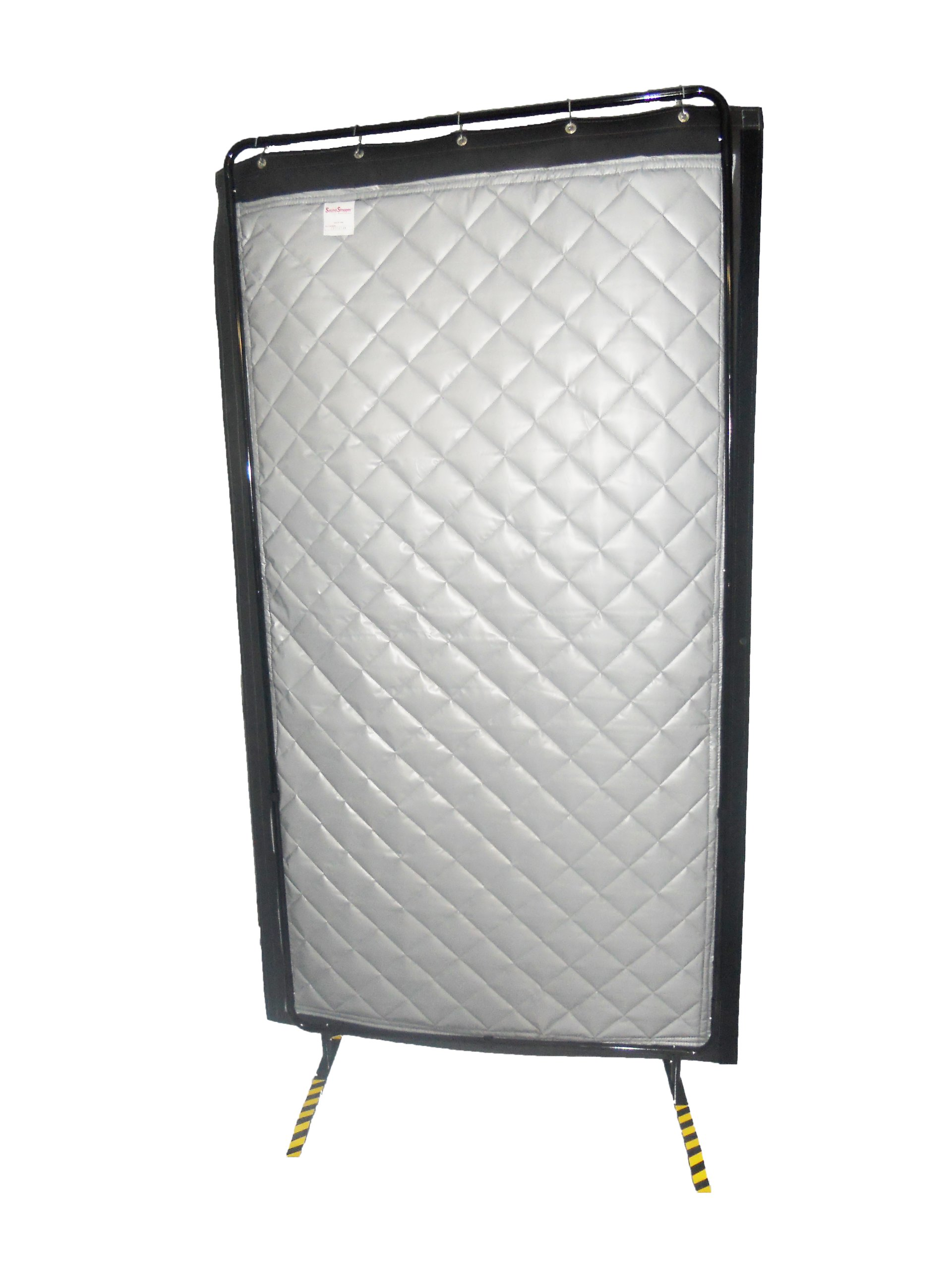 Singer Safety  3/4# Loaded Vinyl Single Sided Modular Acoustic Screen, 4'' Width x 100'' Height