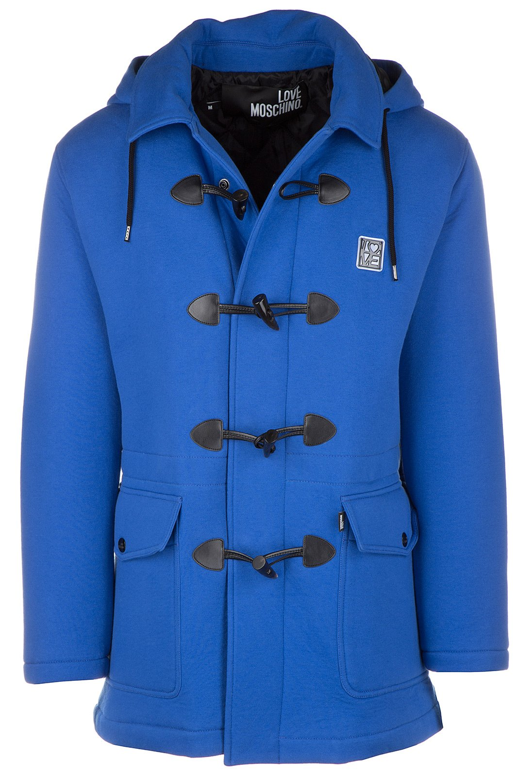 Love Moschino montgomery duffle coat outwear men original blu US size M (US 8) M 3 114 00 M 3677 Y1