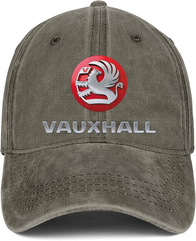 Men Women Hat Vauxhall Logo Snapback Hats Custom Denim Cap One Size Caps