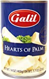 Galil Whole Hearts of Palm, All Natural/Non-GMO 14-Ounce Cans (Pack of 12)