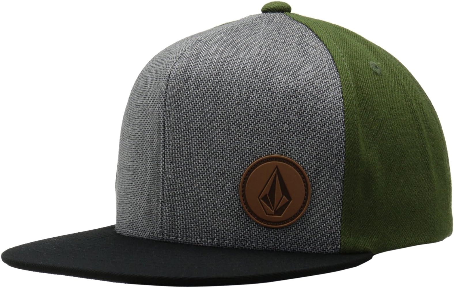 Volcom Cap Upper Corner Stone Hat Gorra, Hombre, Verde, DE: One ...
