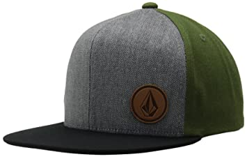 new product cbb77 d4053 ... coupon code for volcom mens cap upper corner stone hat green military  sizeone size fb205 458f1