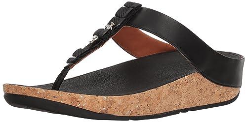 1cf351d22ed7ce Fitflop Women s Ruffle Toe-Thong Sandals Open  Amazon.co.uk  Shoes ...