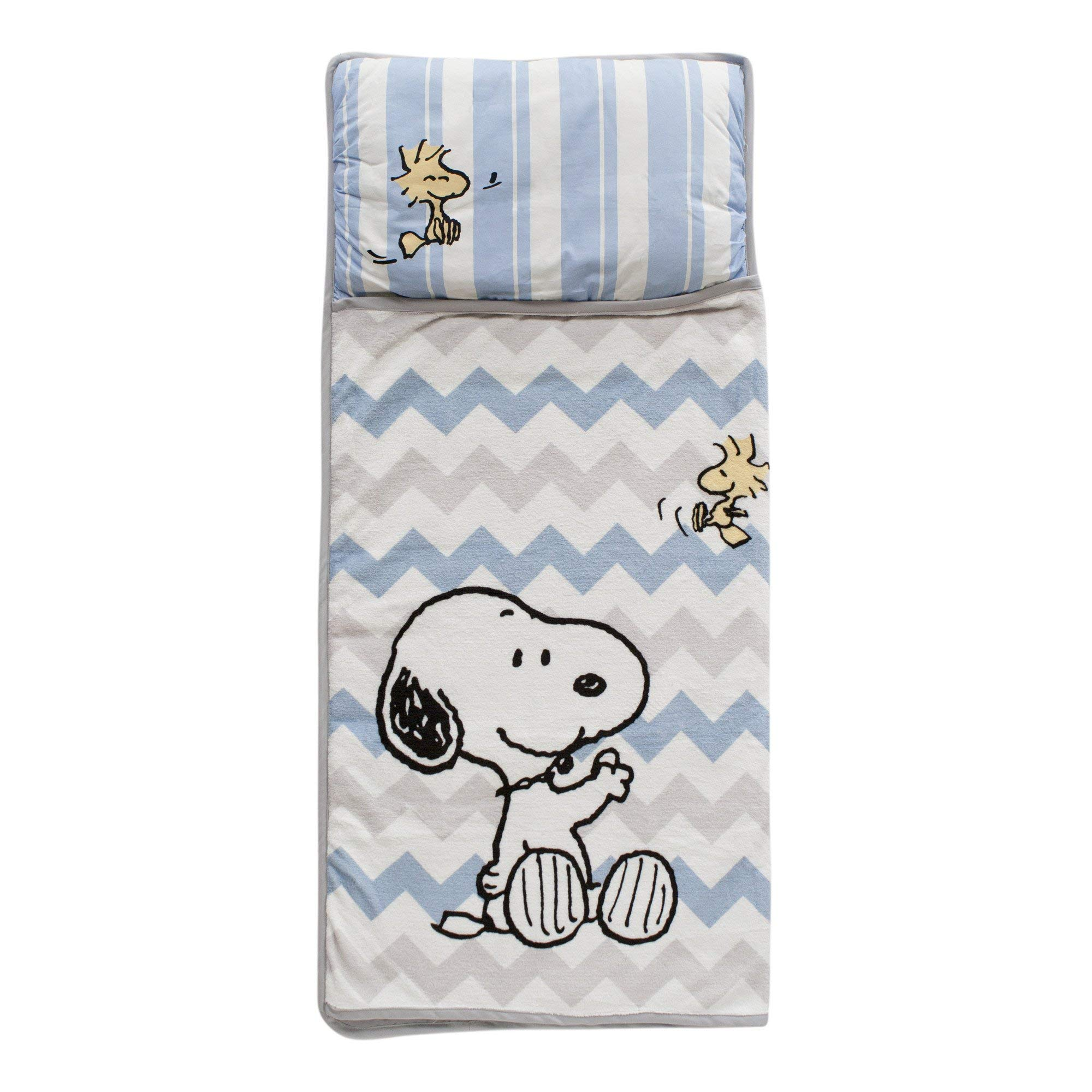 Lambs & Ivy Snoopy Nap Mat, Blue