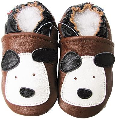Amazon.com: Carozoo baby boy Soft Suela de piel Infant bebé ...