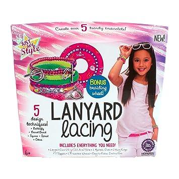 Amazon Just My Style Lanyard Lacing Kit Toys Games