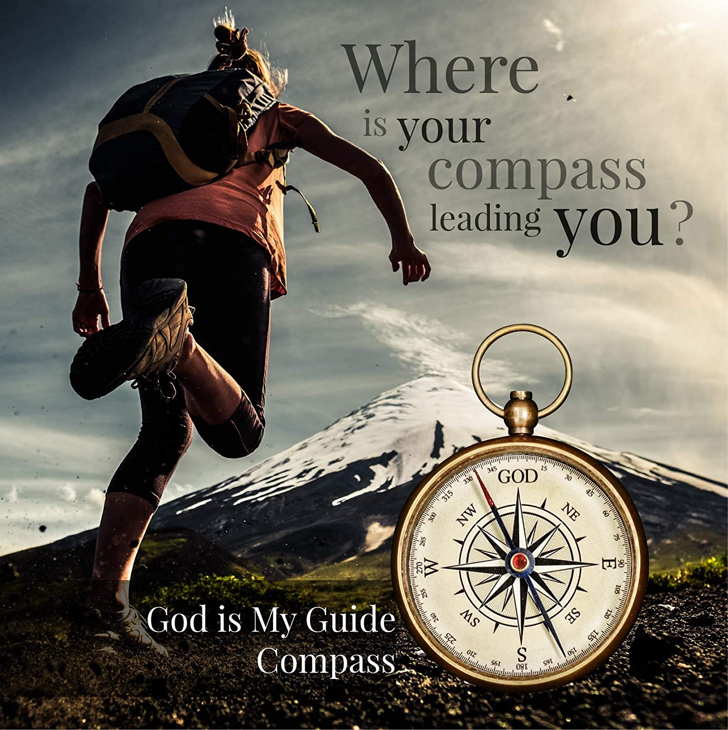 Details about  /GOD COMPASS-SIMPLE REMINDER TO TRUST GOD HE KNOWS THE WAY-GIFT