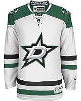 Dallas Stars Blank White NHL Youth Reebok Premier Away Jersey