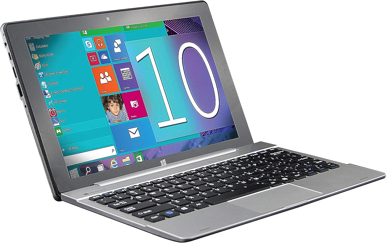 "Supersonic SC-1032WKB 10.1"" Touchscreen 2 in 1 Notebook - 1280 x 800 - Atom x5 x5-Z8350-2 GB RAM - 32 GB Flash Memory"