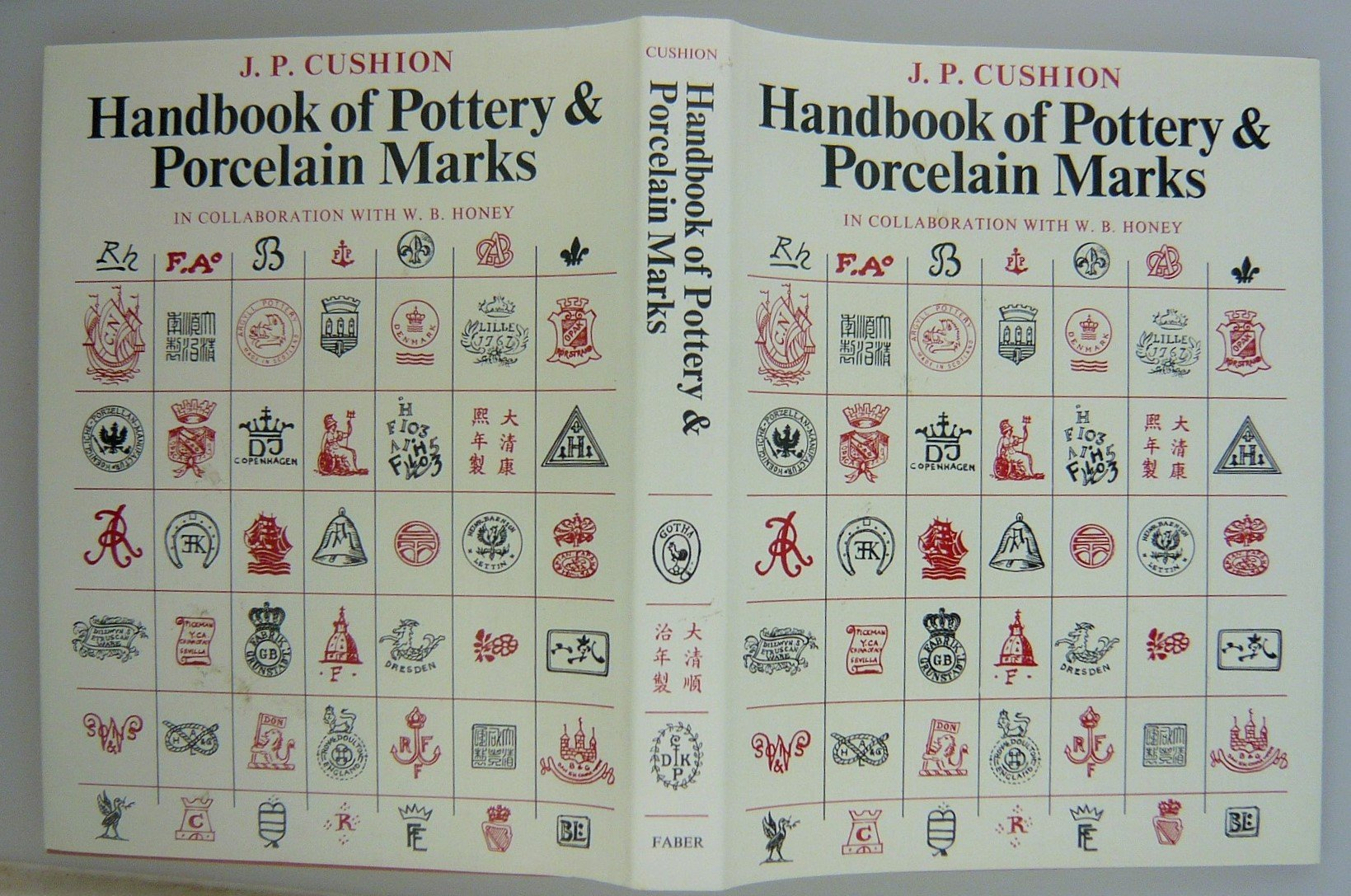 Handbook of Pottery and Porcelain Marks: Amazon co uk: John