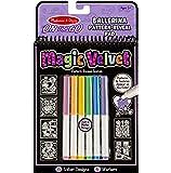 Melissa & Doug On the Go Magic Velvet Pattern-Reveal Activity Kit - Ballerina