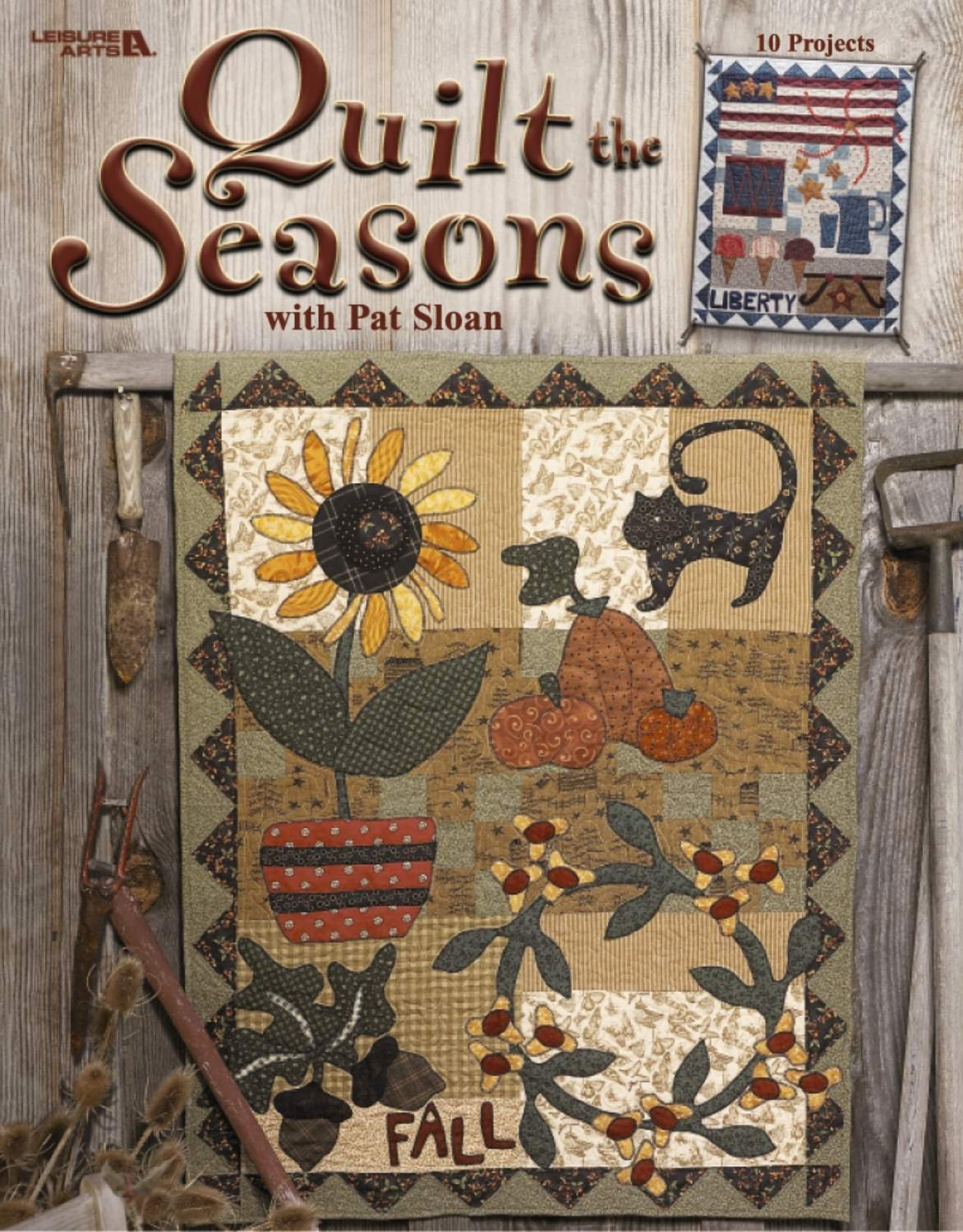 Quilt the Seasons with Pat Sloan  (Leisure Arts #3574) PDF