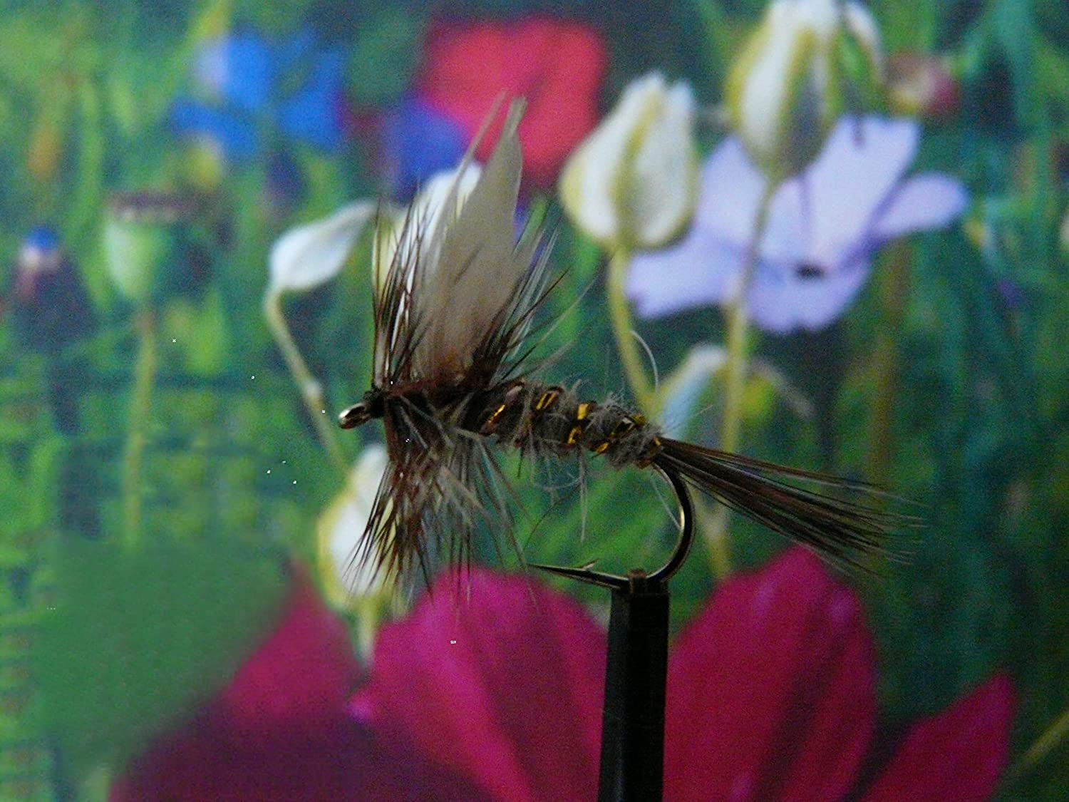 hook size 14 Dry Fly  March Brown  Set of 3