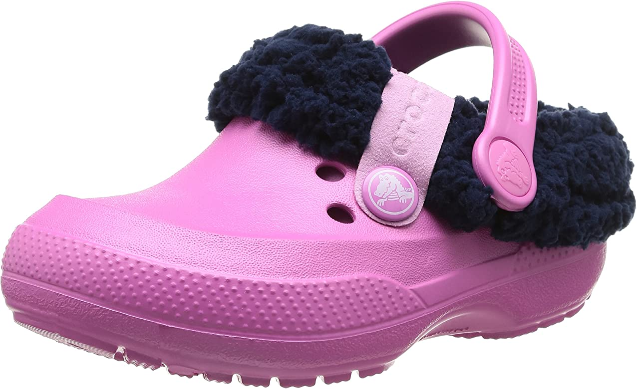 db2460aaae5eb1 Amazon.com | crocs Blitzen II Lined Clog (Toddler/Little Kid), Party ...