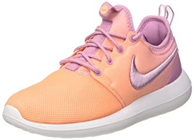 new arrivals c6f6c 46faa Nike Womens Roshe Two Br Low Top Lace Up, Orchid Orchid-Sunset Glow