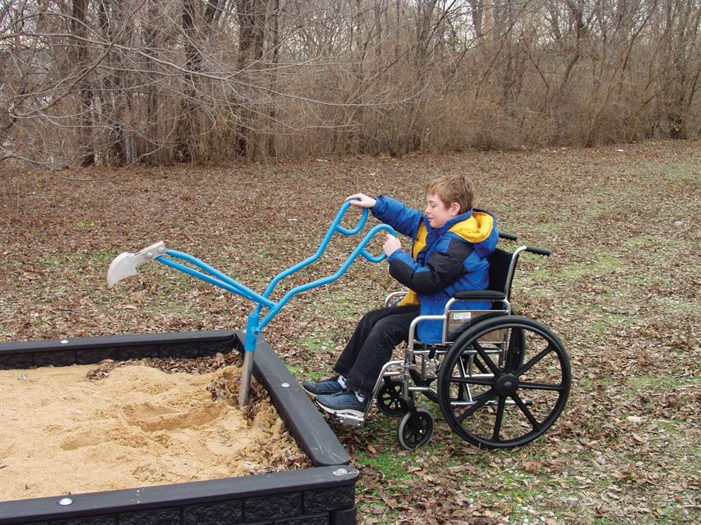 SportsPlay ADA Accessible Sand Digger
