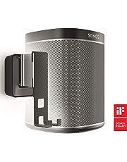 Vogel's Sound 4201, Soporte de pared para Sonos Play 1 (no compatible con Sonos One), Negro