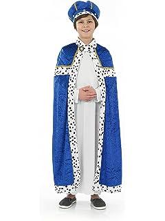 hombre sabio azul nios del vestido de lujo costume pequeo cm