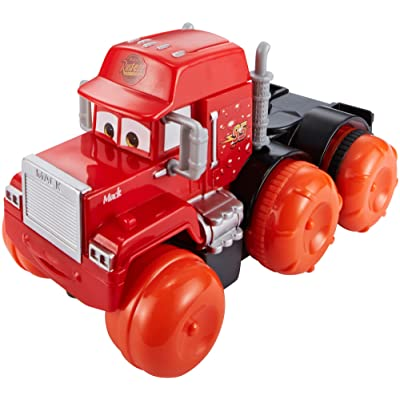 Disney Pixar Cars Hydro Wheels Deluxe Mack Vehicle: Toys & Games