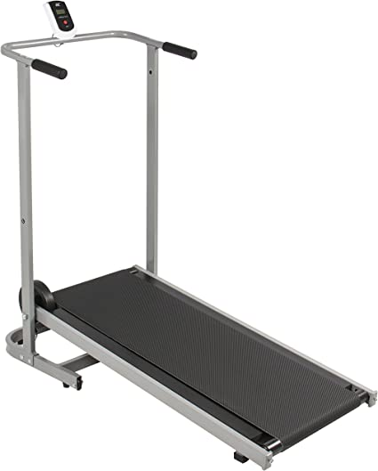 Best Choice Products Portable Fitness Treadmill, Black/Silver