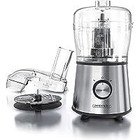 Mixeur électrique Multifonction- Blender, Robot mélangeur - Hachoir de cuisine- Broyeur à glace - 2 vitesses de Mixage - Commande d'une seule main - Utilisation 2en 1 Couper et râper - Sans BPA