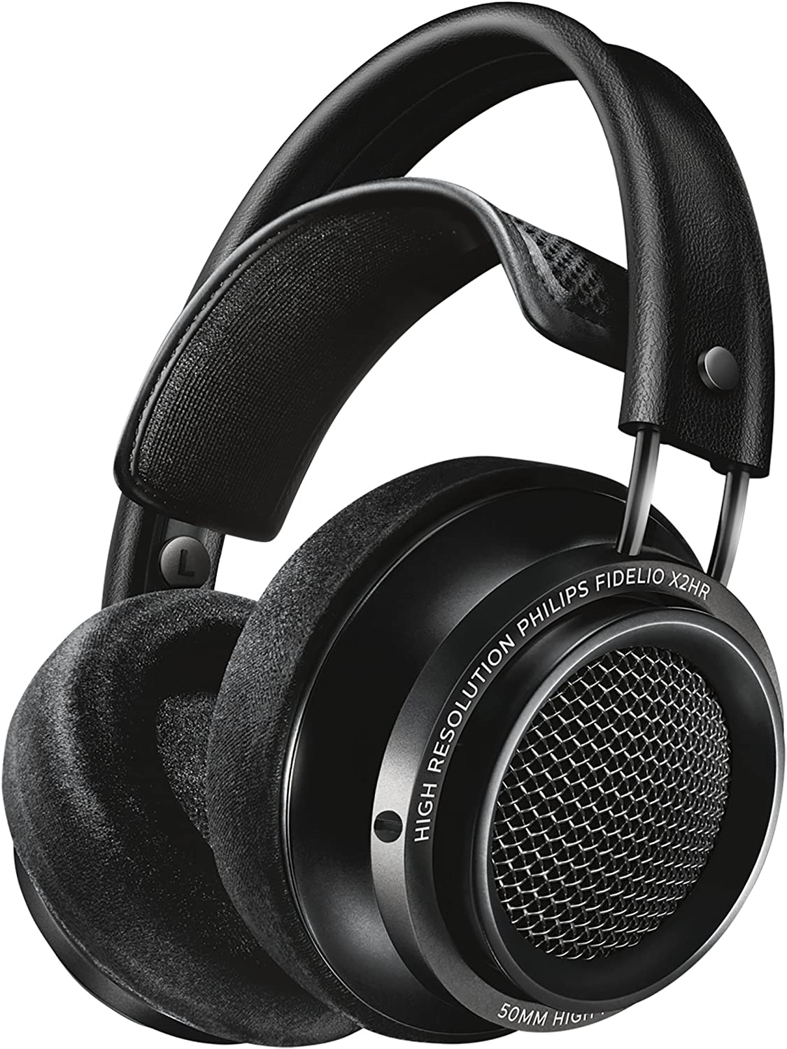 Philips X2HR Fidelio Over Ear Headphone, Black