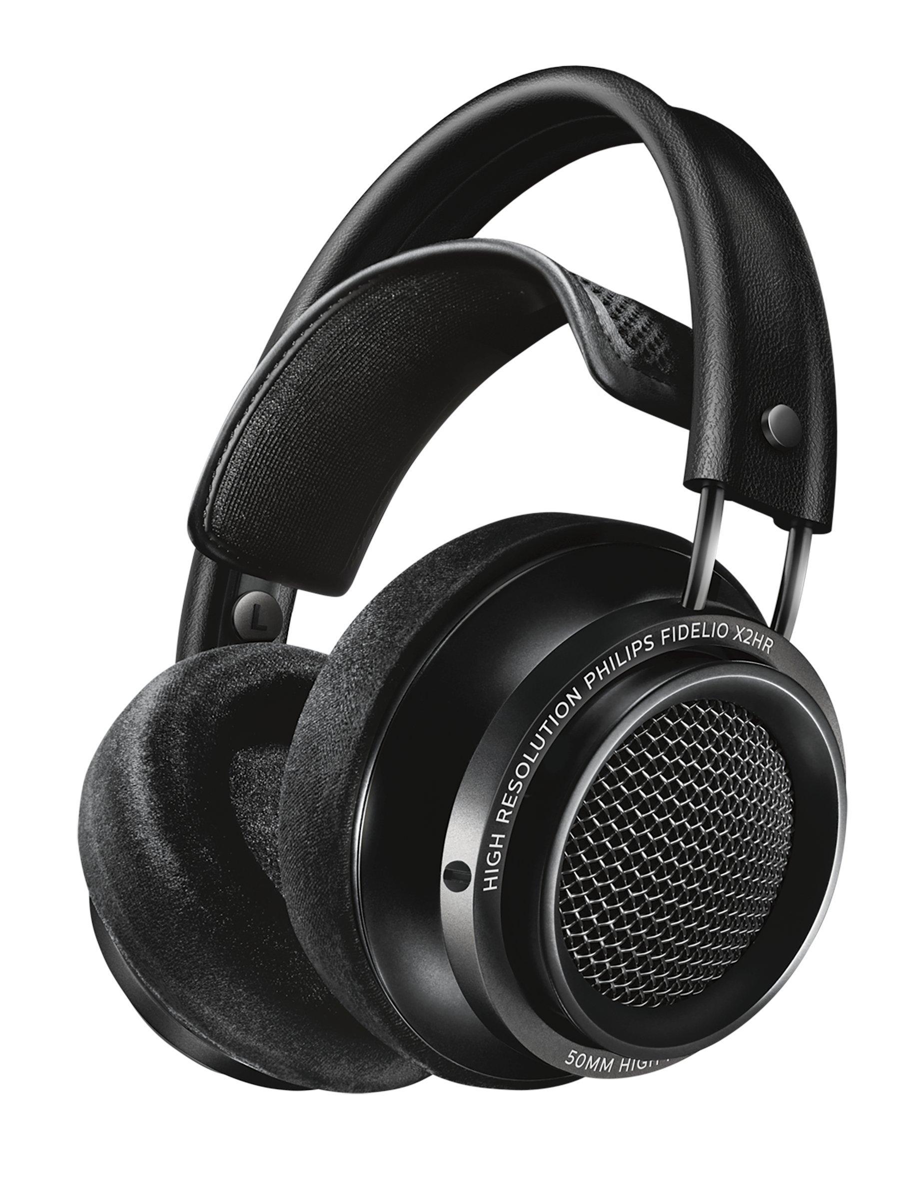 Philips X2HR Fidelio Over Ear Headphone, Black by Philips Audio