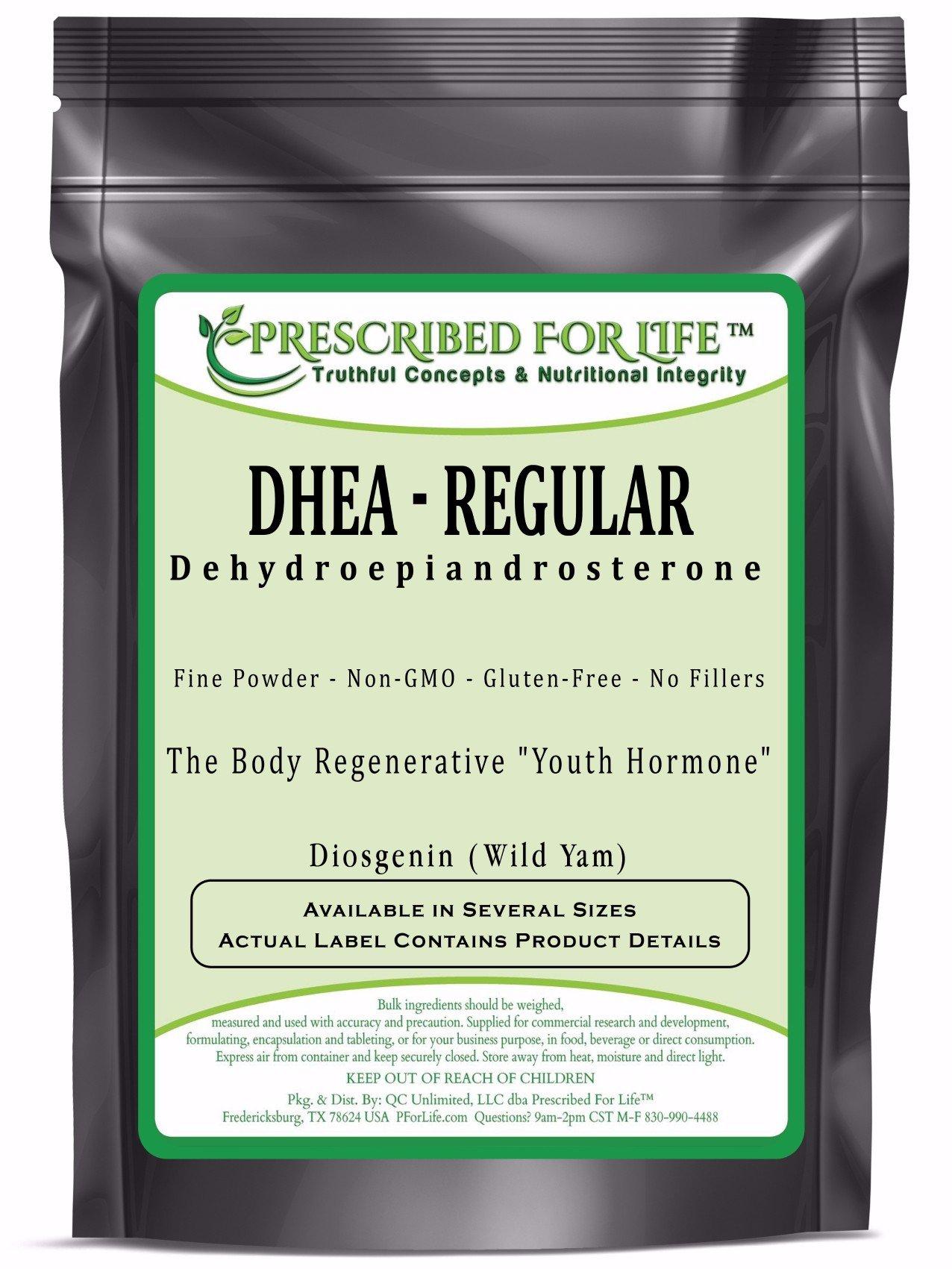 DHEA - Didehydroepiandrosterone Regular Wild Yam Powder - 'The Youth Hormone' - 12 oz