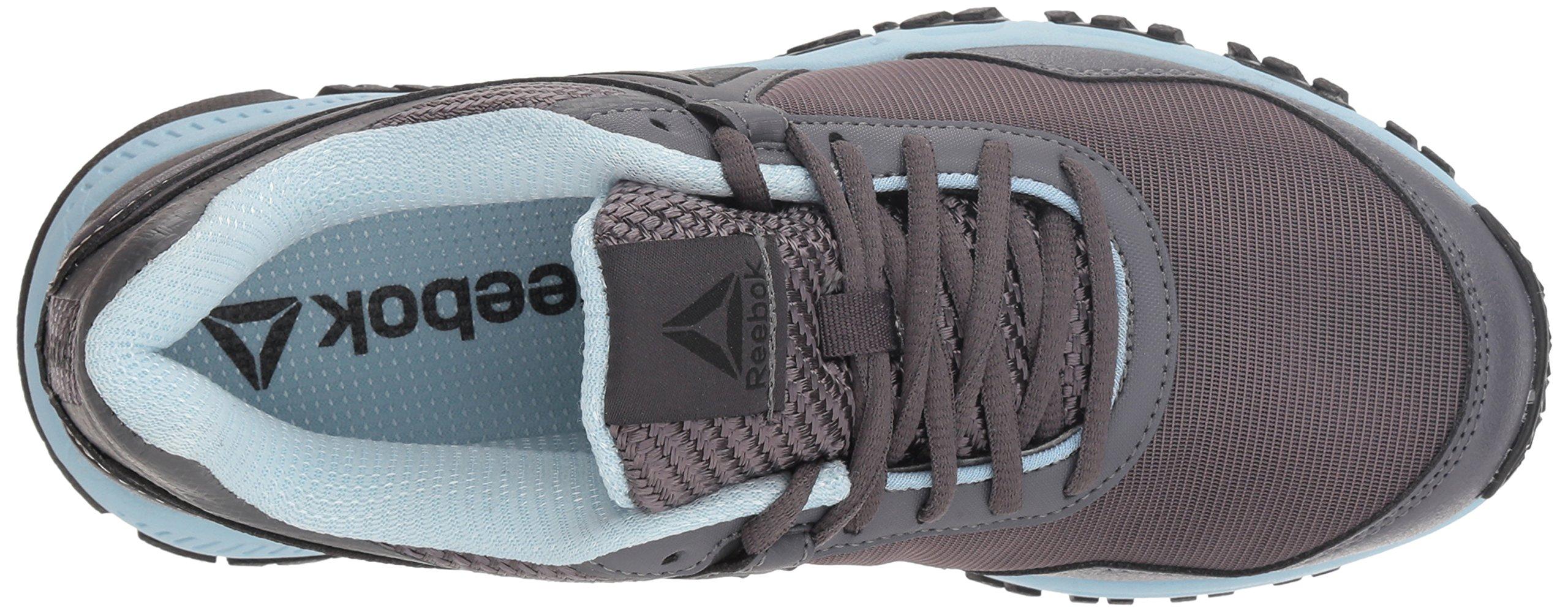 Reebok Women's Ridgerider Trail 3.0 Walking Shoe, ash Grey/Dreamy Blue/blac, 7.5 M US by Reebok (Image #7)