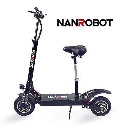 NANROBOT D4 + Scooter 2.0 eléctrico de Alta Velocidad ...