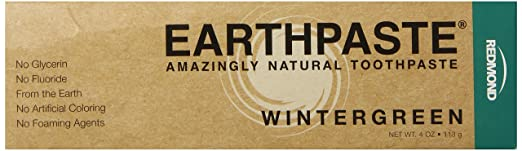 Redmond Earthpaste, Wintergreen, 4 Ounce