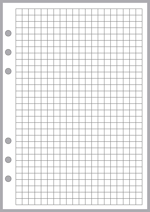 Sheet Size 5.83 x 8.27 Kikki K A5 Size Blank Sheets GM 148mm x 210mm and Others Sized and Punched for 6-Ring A5 Notebooks by Filofax LV TMI