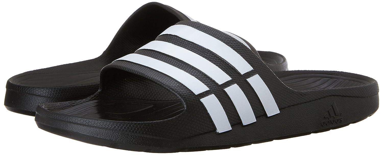636ec0382add adidas Duramo Slide Sandal Black White Black 18 B(M) US Women   16 D(M) US  Men  Buy Online at Low Prices in India - Amazon.in