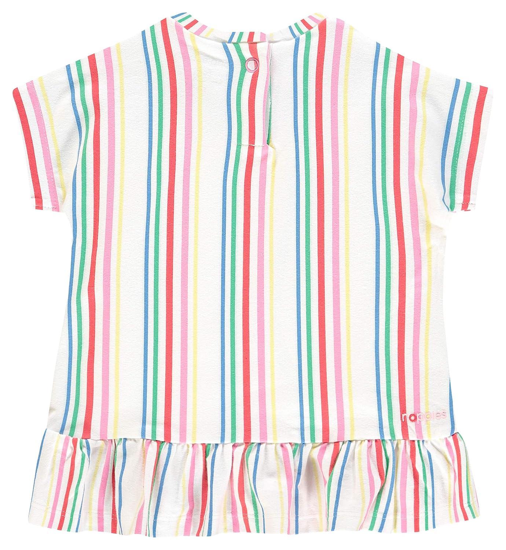 Noppies Baby-M/ädchen G Dress Ss Rotonda STR Kleid