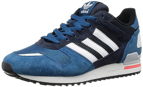 premium selection 4fa8d 0cc7a adidas Originals Zx 700-4 D65644, Sneaker Uomo, Blu (Blau (TRIBE